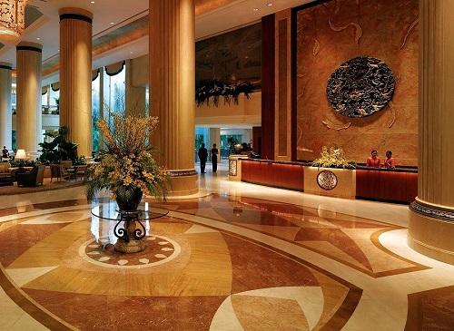 Sảnh khách sạn đẹp lộng lẫy với cách trang trí thiết kế nội thất