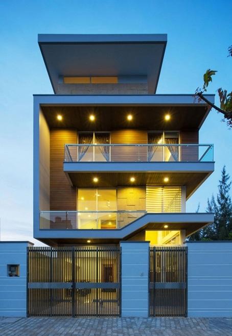 Thiết kế nhà 2, 3 tầng hiện đại đầy đủ tiện nghi nổi bật nhất hiện nay