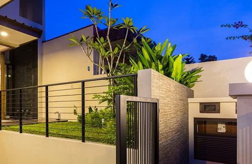 Thiết kế nhà phố có sân vườn độc đáo làm siêu lòng mọi người