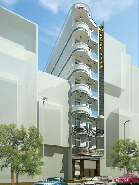 Mẫu thiết kế khách sạn độc đáo, sang trọng với diện tích nhỏ