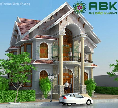 Mẫu thiết kế biệt thự đẹp của Vinh ở Quận Tân Bình