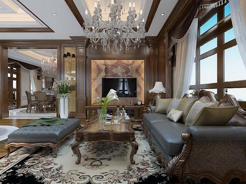 Dự án thiết kế nội thất cho anh Nam theo phong cách tân cổ điển