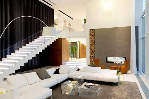 Mẫu thiết kế biệt thự mang phong cách trẻ trung, năng động