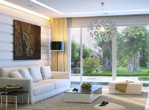 Mẫu thiết kế nội thất dành cho phòng khách biệt thự hiện đại nhất.