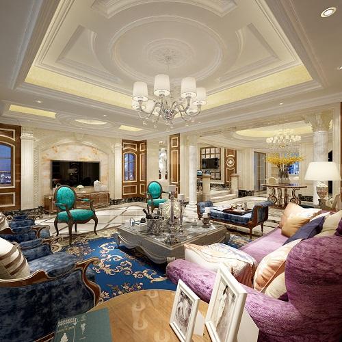 Thiết kế nội thất biệt thự sang trọng, hiện đại và quyến rũ