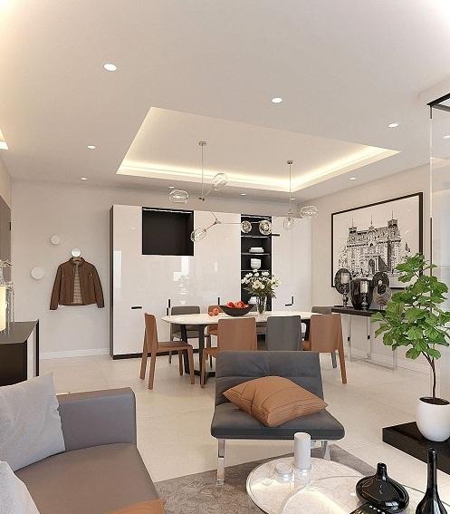 Nội thất chung cư của chú Long – Bình Tân