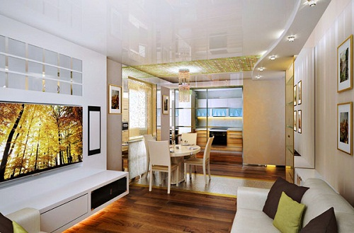 Thiết kế nội thất phòng khách chung cư mang phong cách hiện đại