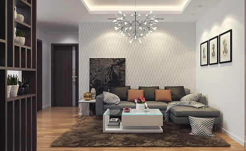 Thiết kế nội thất sang trọng và hiện đại cho chung cư có diện tích nhỏ