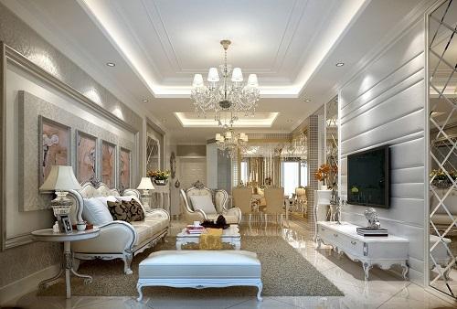 Các thiết kế nội thất khách sạn đậm chất tân cổ điển đẹp mê ly