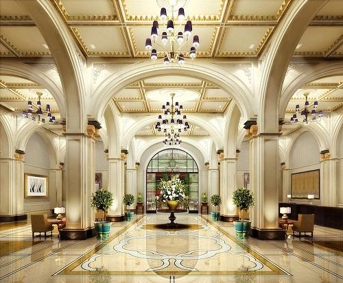 Đắm say trước những thiết kế tiền sảnh khách sạn ấn tượng, lộng lẫy