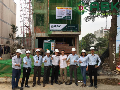 Công trình xây dựng nhà 4 tầng