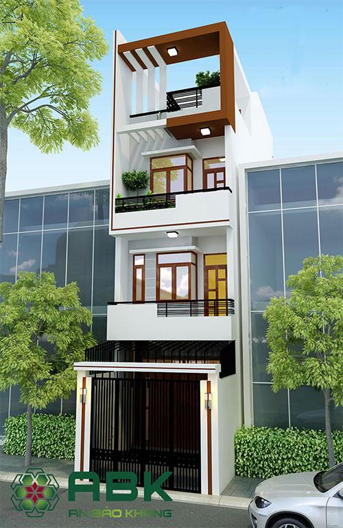 chi phí xây nhà 4 tầng 90m2