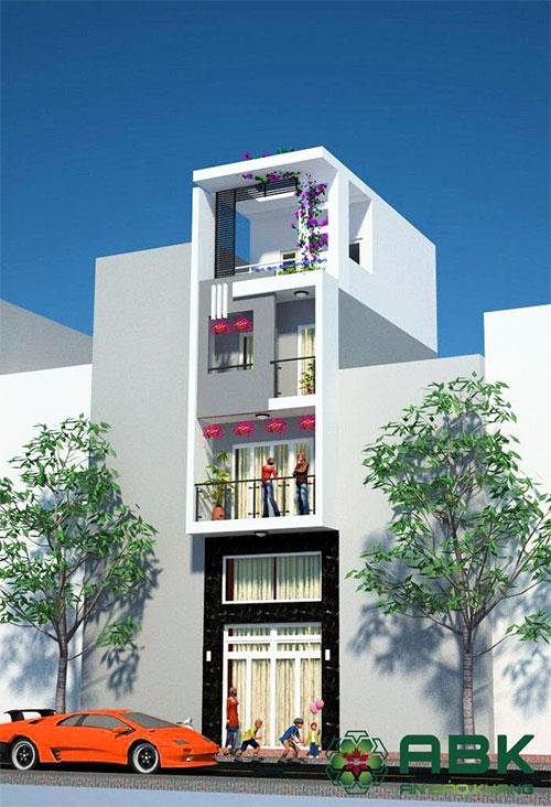 Chi phí xây nhà 4 tầng 90m2 tại TP HCM