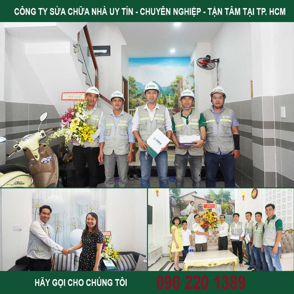Công ty sửa chữa nhà nhanh tại TP HCM